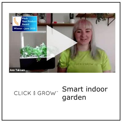 Click & Grow - Winner June 2020
